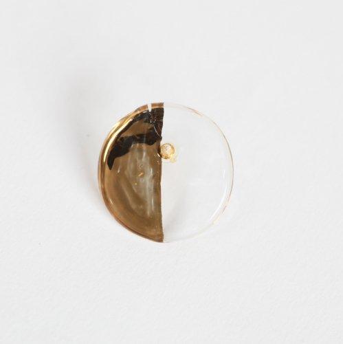 Luce macchia(ルーチェマッキア) / circle left pierce gold サークル レフト ピアス - ゴールド (片耳タイプ)