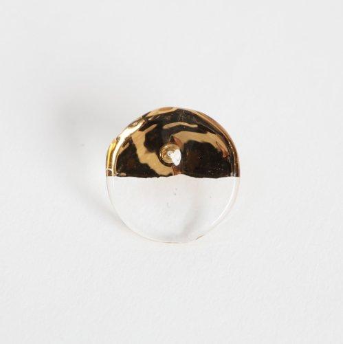 Luce macchia(ルーチェマッキア) / circle up pierce gold サークル アップ ピアス - ゴールド (片耳タイプ)