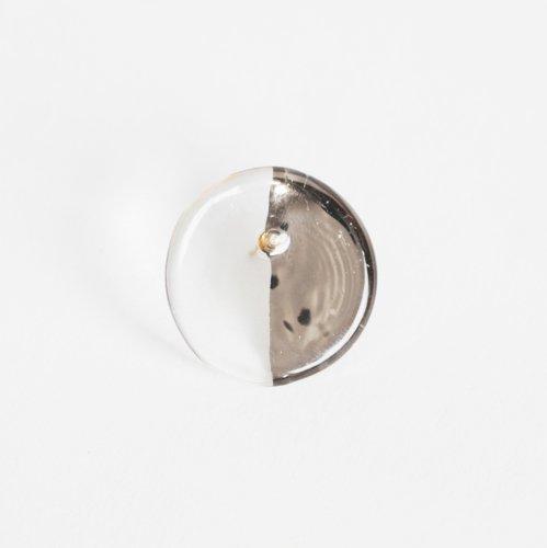 Luce macchia(ルーチェマッキア) / circle right pierce platinum サークル ライト ピアス - プラチナ (片耳タイプ)