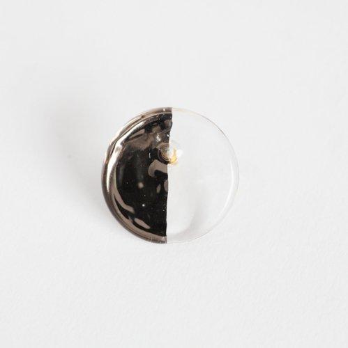 Luce macchia(ルーチェマッキア) / circle left pierce platinum サークル レフト ピアス - プラチナ (片耳タイプ)