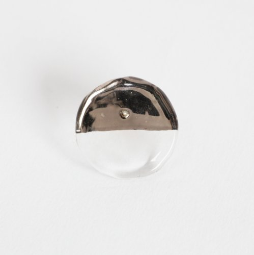 Luce macchia(ルーチェマッキア) / circle up pierce platinum サークル アップ ピアス - プラチナ (片耳タイプ)