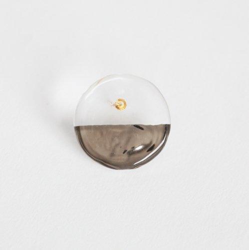 Luce macchia(ルーチェマッキア) / circle down pierce platinum サークル ダウン ピアス - プラチナ (片耳タイプ)