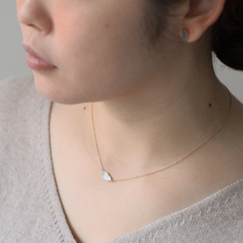 SIRISIRI / RA403 CINEMA JAPONESQUE Necklace Anna 螺鈿ネックレス