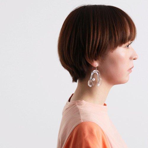 Iria Ashimine(イリア アシミネ) / CRAB PINCER ピアス - CLEAR