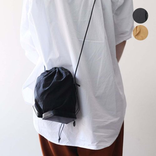 i ro se / BAG-PU10 POCKETABLE MINI SHOULDER BAG ショルダーバッグ - 全2色