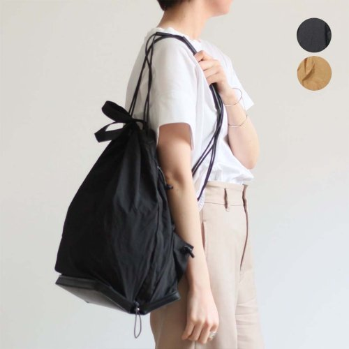 i ro se / BAG-PU11 POCKETABLE KNAP TOTE BAG ナップ・トートバッグ - 全2色