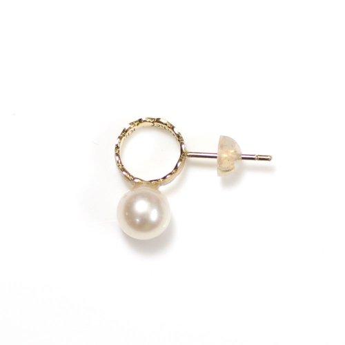 Perche?(ペルケ) / k18 marumaru pearl ピアス 4 (片耳タイプ)