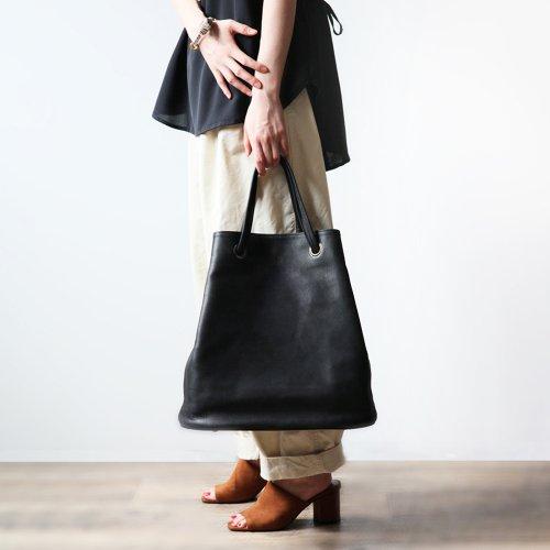 Ense(アンサ) / ヌバック巾着トートバッグ ki303 - ブラック