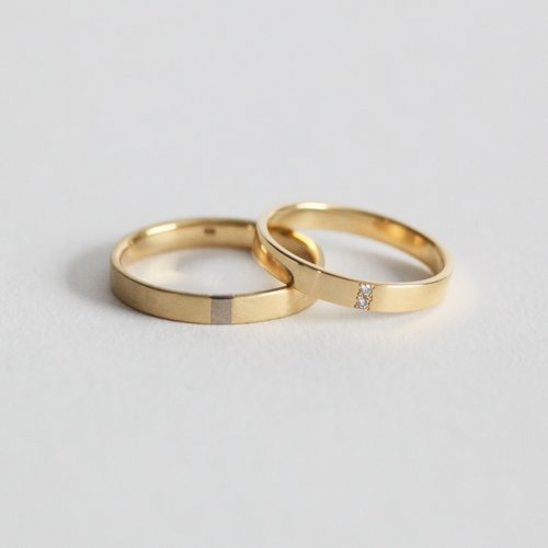 revie objects(レヴィオブジェクツ) / MA1-05  Extention 3mm MARRIAGE RING マリッジリング