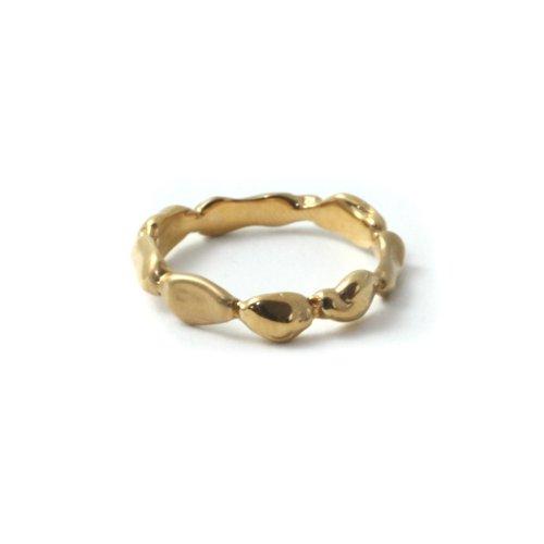 MIKU FUKAMITSU(ミク フカミツ) / 連なる泡沫のリング / (ゴールド / SV / k18pt)
