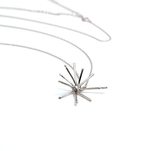 Lamie(ラミエ) / 135 spark (M) ネックレス - silver シルバー