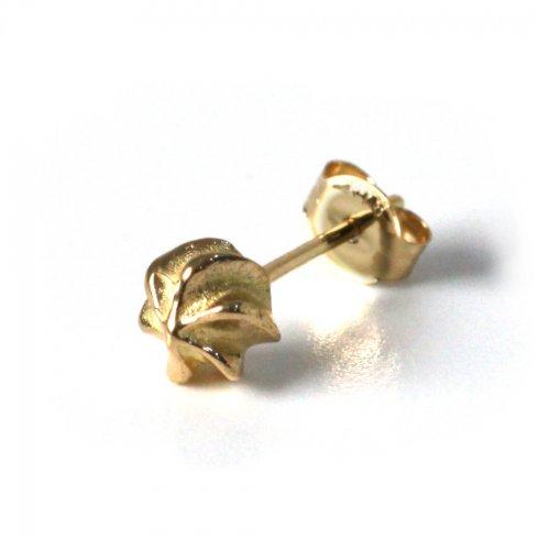 hirondelle et pepin(イロンデールエペパン) / k18 hp-21ss-652 メレンゲ ピアス(片耳タイプ)