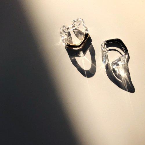 Luce macchia(ルーチェマッキア) /  pentagon cuff イヤーカフ - ゴールド (片耳タイプ)