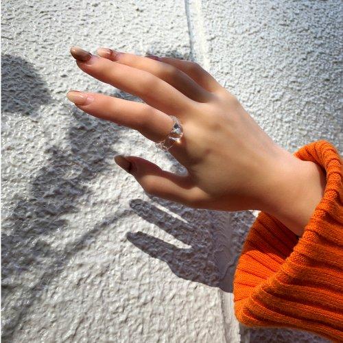 Luce macchia(ルーチェマッキア) / mobius ring リング - オパール