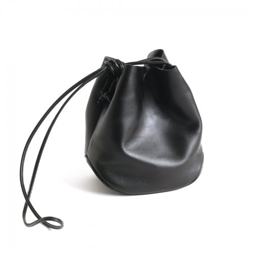 MARROW(マロウ) / MA-AC1103 / LEATHER MINI CRADLE - BLACK<img class='new_mark_img2' src='https://img.shop-pro.jp/img/new/icons7.gif' style='border:none;display:inline;margin:0px;padding:0px;width:auto;' />