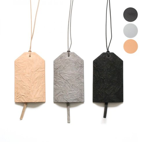 i ro se / ACC-P12 / PAPER LEATHER KEY/CARD HOLDER - 全3色