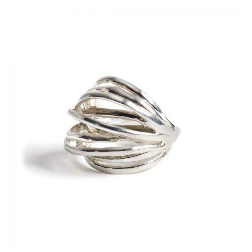 Lamie(ラミエ) / E417 spiral ring リング - シルバー