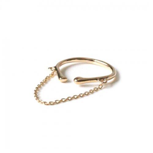 Lamie(ラミエ) / E406 chain earcuff イヤーカフ S - ゴールド