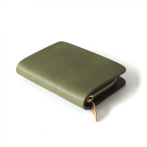 mnoi(ムノイ) / mu coin wallet -khaki- / コインウォレット - カーキ<img class='new_mark_img2' src='https://img.shop-pro.jp/img/new/icons7.gif' style='border:none;display:inline;margin:0px;padding:0px;width:auto;' />