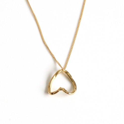 hirondelle et pepin(イロンデールエペパン)/ hn-21fw-547 k18 epine necklace エピン ネックレス - ゴールド