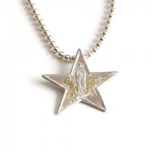 hirondelle et pepin(イロンデールエペパン)/ sn-21fw-24 silver Die Sterntaler necklace ディーシュテルンターラー ネックレス - シルバー