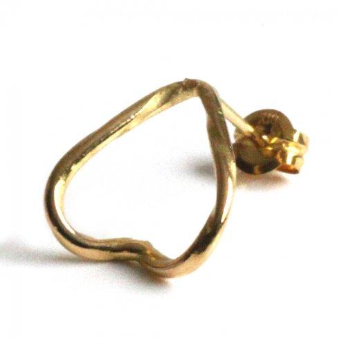 hirondelle et pepin(イロンデールエペパン)/ hp-21fw-653 k18 epine pierce エピン ピアス - ゴールド (片耳タイプ)