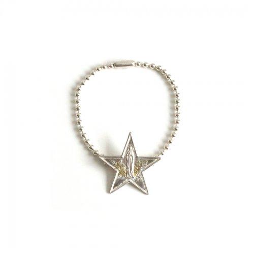hirondelle et pepin(イロンデールエペパン)/ sv-21fw-32 silver Die Sterntaler necklace ディーシュテルンターラー ブレスレット-シルバー