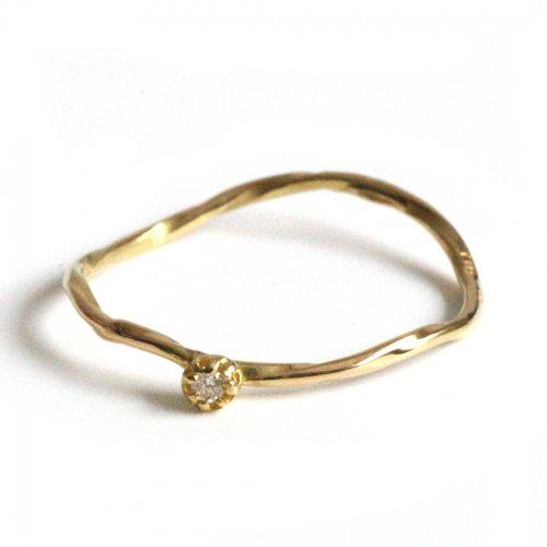 hirondelle et pepin(イロンデールエペパン)/ hr-21fw-575 k18 epine diamond ring エピン ダイヤモンド リング - ゴールド<img class='new_mark_img2' src='https://img.shop-pro.jp/img/new/icons7.gif' style='border:none;display:inline;margin:0px;padding:0px;width:auto;' />