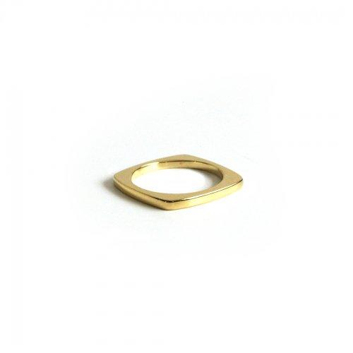 BYOKA(ビョーカ)/ GR1501 G.SLICE RING リング - ゴールド