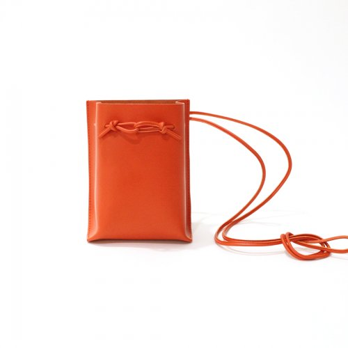 MARROW(マロウ) / MA-AC0103 / STRING POUCH ストリングポーチ バッグ - Vermilion 朱色<img class='new_mark_img2' src='https://img.shop-pro.jp/img/new/icons7.gif' style='border:none;display:inline;margin:0px;padding:0px;width:auto;' />