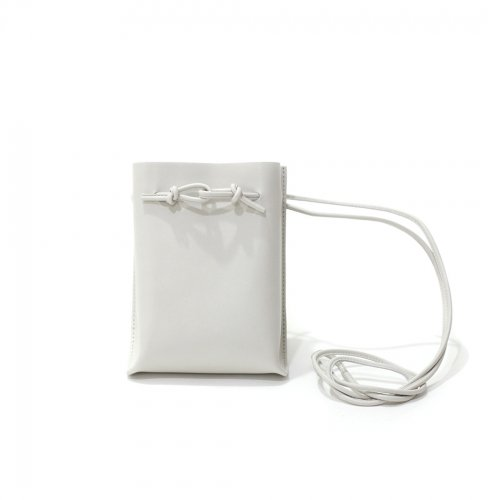 MARROW(マロウ) / MA-AC0103 / STRING POUCH ストリングポーチ バッグ - Light gray ライトグレー