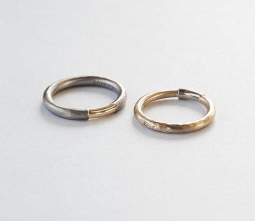 su(スウ) / MARRIAGE RING 001(槌目)