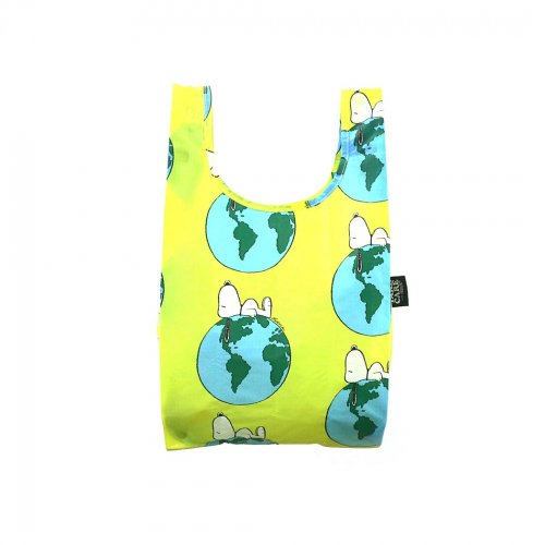 BAGGU(バグゥ) / BABY エコバッグ - <TAKE CARE WITH PEANUTS>  EARTH SNOOPY<img class='new_mark_img2' src='https://img.shop-pro.jp/img/new/icons7.gif' style='border:none;display:inline;margin:0px;padding:0px;width:auto;' />