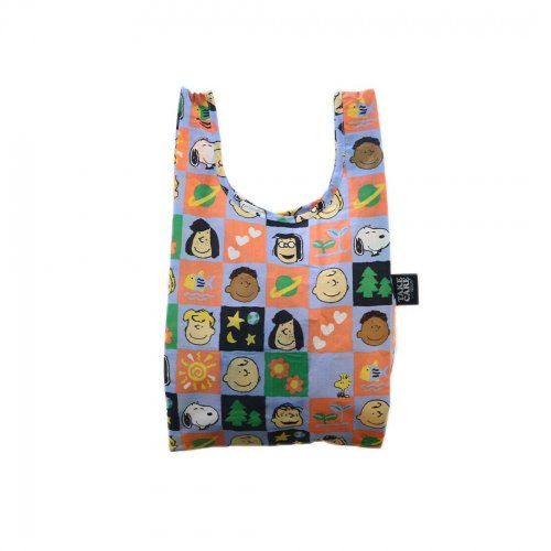 BAGGU(バグゥ) / BABY エコバッグ - <TAKE CARE WITH PEANUTS>  CHECKERBOAD GANG<img class='new_mark_img2' src='https://img.shop-pro.jp/img/new/icons7.gif' style='border:none;display:inline;margin:0px;padding:0px;width:auto;' />