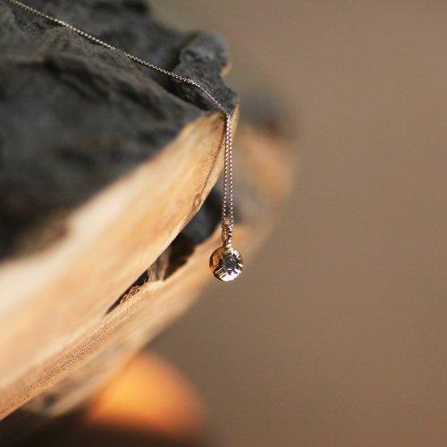 hirondelle et pepin(イロンデールエペパン) / k18 h-n-6-8-115 プチダイヤネックレス