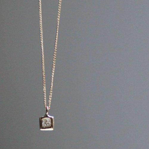 hirondelle et pepin(イロンデールエペパン) / k18 h-n-7-7-149 プリンセスダイヤネックレス