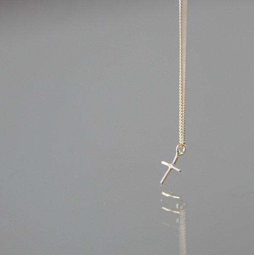 hirondelle et pepin(イロンデールエペパン) / k18 hn-8-8-184 クロスネックレス