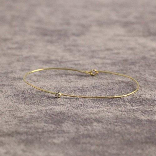 hirondelle et pepin(イロンデールエペパン) / k18 h-v-7-2-70 SS ダイヤブレスレット