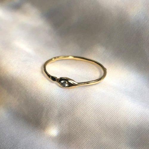 hirondelle et pepin(イロンデールエペパン) / k18 h-r-6-8-116 ドロップダイヤリング