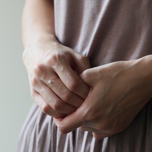 hirondelle et pepin(イロンデールエペパン) / k18 hr-9s-264 パールリング