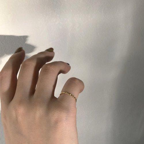 hirondelle et pepin(イロンデールエペパン) / k18 hr-9s-243 ツイストリング