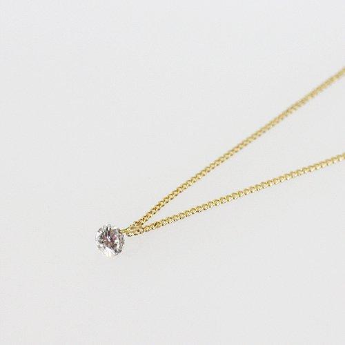 hirondelle et pepin(イロンデールエペパン) / k18 h-n-6-6-109 ルースダイヤネックレス