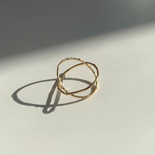 hirondelle et pepin(イロンデールエペパン) / k18 h-r-7-2-138 Xリング