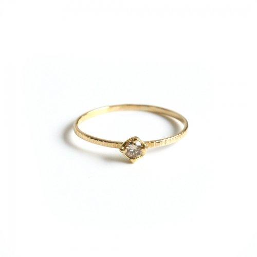 hirondelle et pepin(イロンデールエペパン) / k18 hr-294 ブラウンダイヤリング