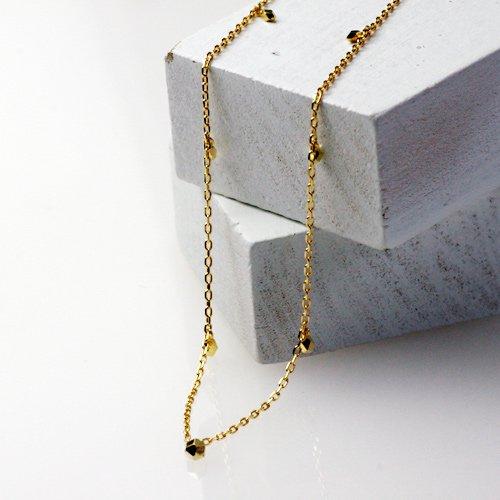 hirondelle et pepin(イロンデールエペパン) / k18 hv-144 玉切子 ブレスレット