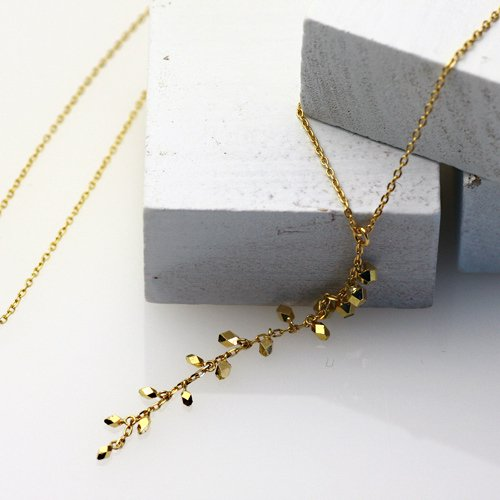 hirondelle et pepin(イロンデールエペパン) / k18 hn-309 Y字ネックレス