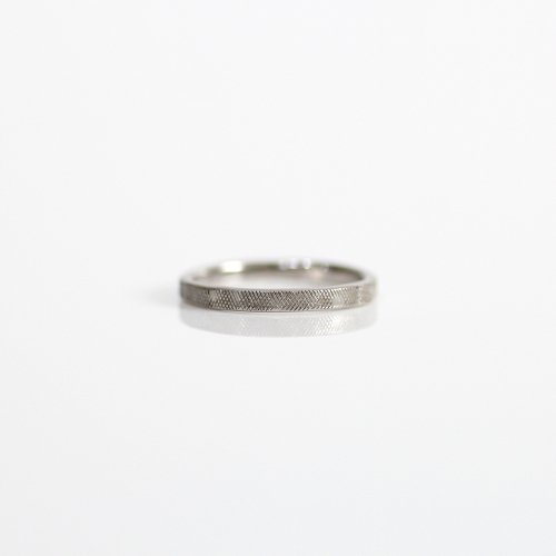 hirondelle et pepin(イロンデールエペパン) / pt pr-50 プラチナメッシュリング fine L