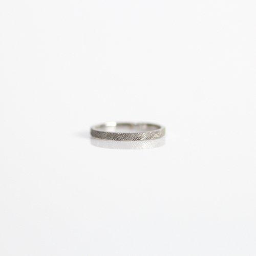 hirondelle et pepin(イロンデールエペパン) / pt pr-49 プラチナメッシュリング fine M