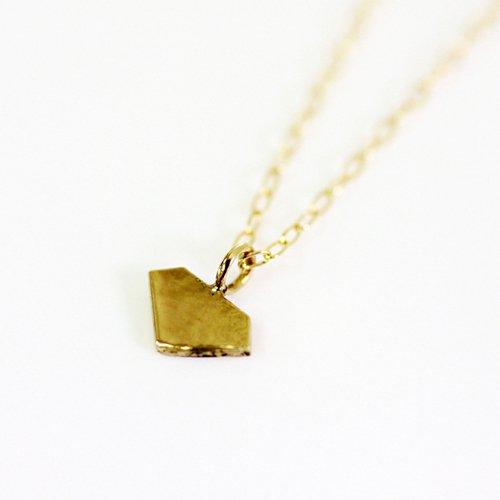 sinc(シンク) / k18 ゴールドプチネックレス - ダイヤ