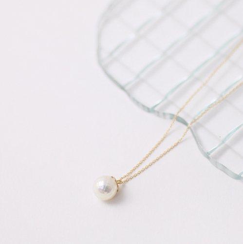 hirondelle et pepin(イロンデールエペパン) / k18 hn-332 華真珠ネックレス